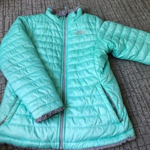 Kids North-face Reversible Winter jacket
